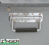 Zinger Stationary Aircraft-Grade Aluminum Dog Crate