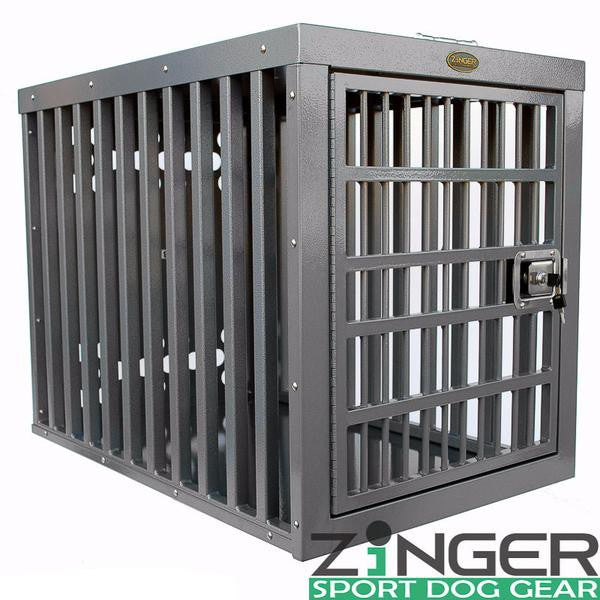 Zinger Heavy Duty Series Aluminum Dog Crate - Pet Possibilities - 1