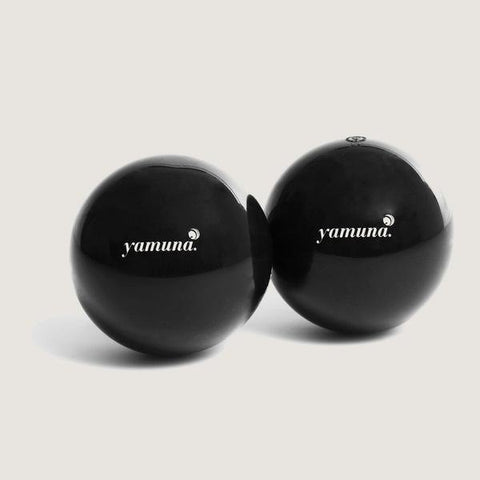 BLACK BALLS (PAIR) - Yamuna UK | Yamuna Product
