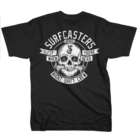 Surfcaster's Journal Night Crew t-shirt