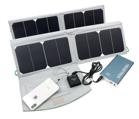 Solar Panel Charger for CPAP Pilot Lite Batteries