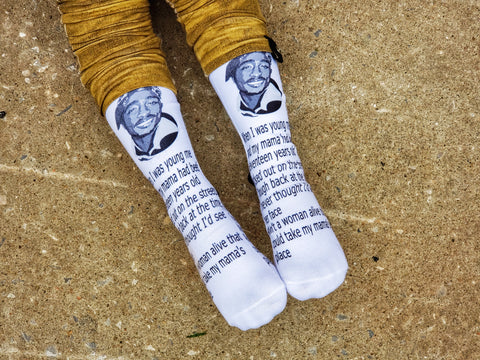 Tupac Socks - Sweet Reasons
