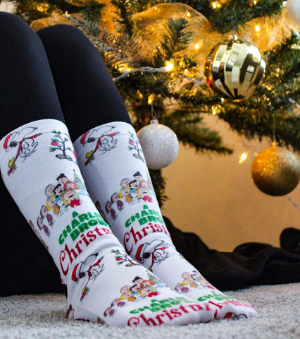 Charlie Brown Christmas Socks - Sweet Reasons