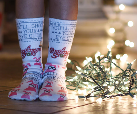 A Christmas Story Socks - Sweet Reasons
