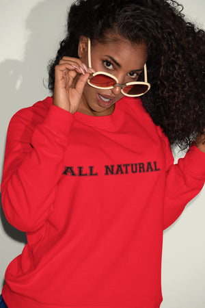 All Natural Sweatshirt - So Swag Apparel