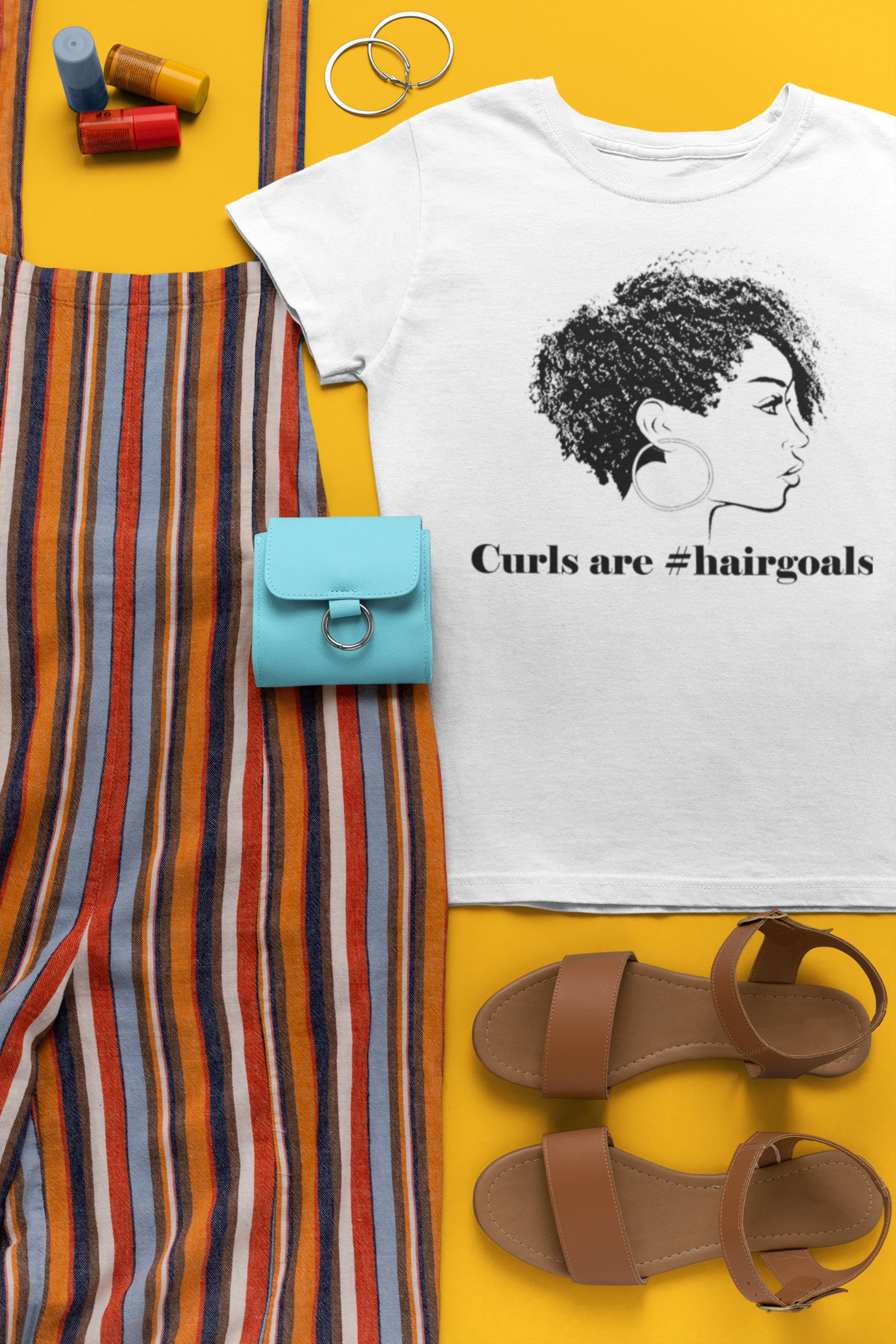 Curls are #hairgoals - So Swag Apparel