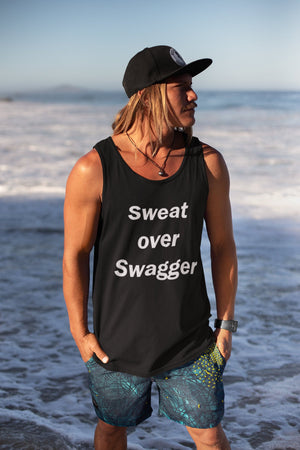 Sweat Over Swagger (Tank) - So Swag Apparel