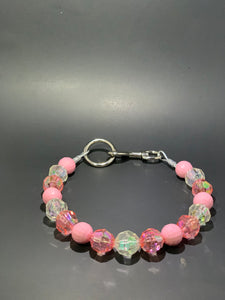 Pink Ice 19 inch dog collar - So Swag Apparel