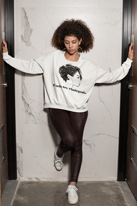 Curls are #hairgoals Sweatshirt - So Swag Apparel