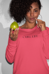 Curl Life Sweatshirt - So Swag Apparel