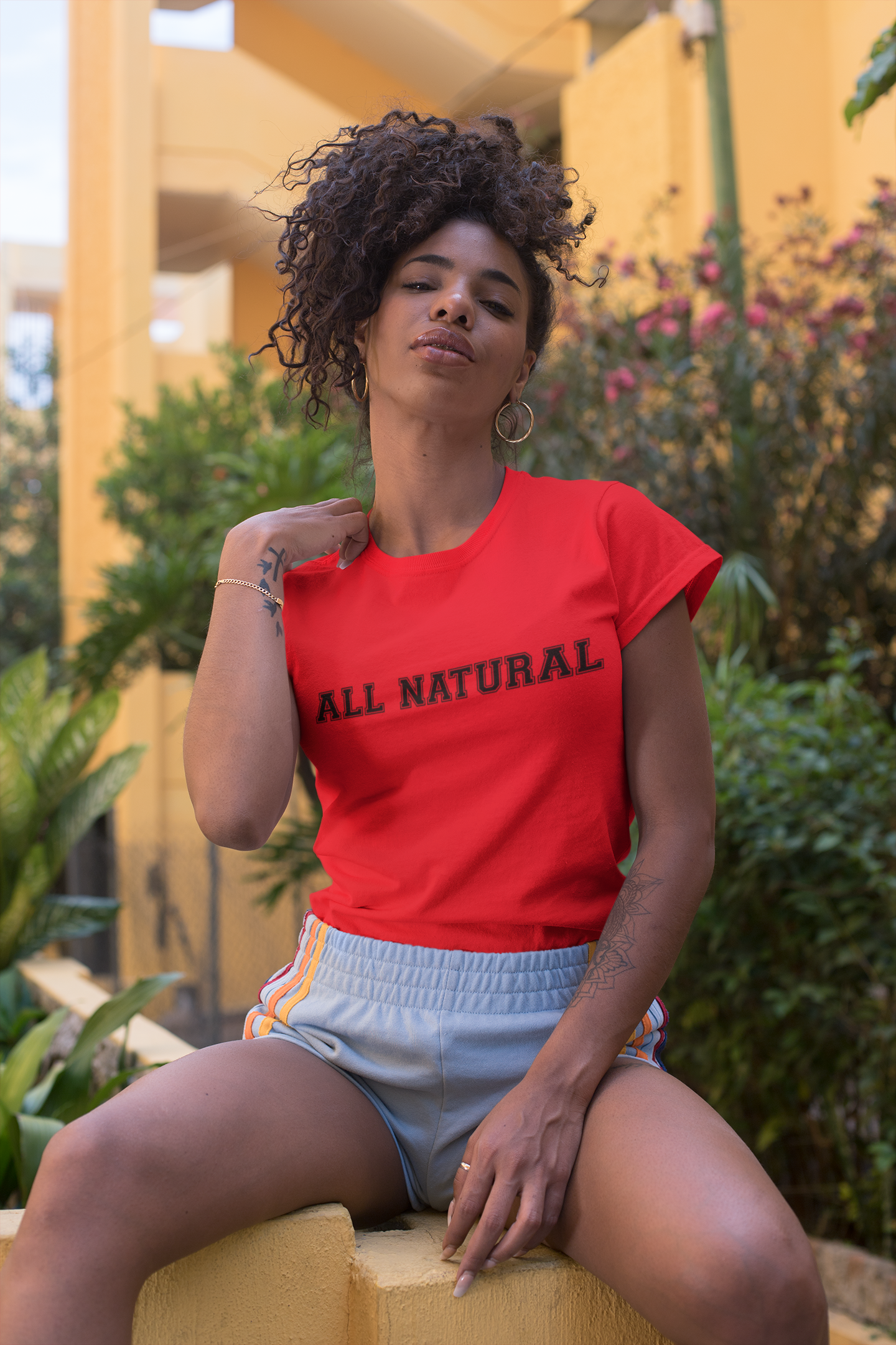All Natural Tee - So Swag Apparel