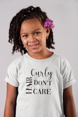 Curly Hair Don't Care - Kids - So Swag Apparel