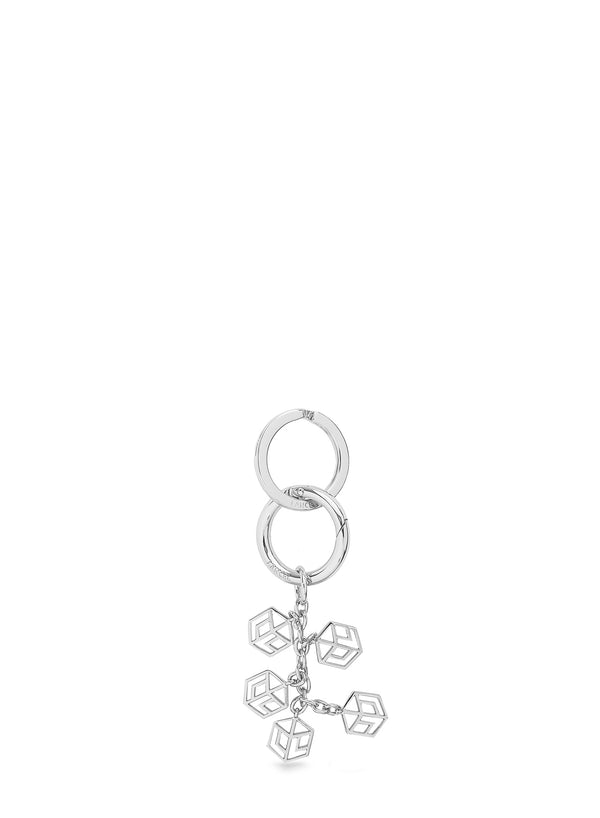 CHARMS METAL CARRE L KEYRING
