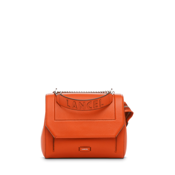 Flap Bag M - Papaya