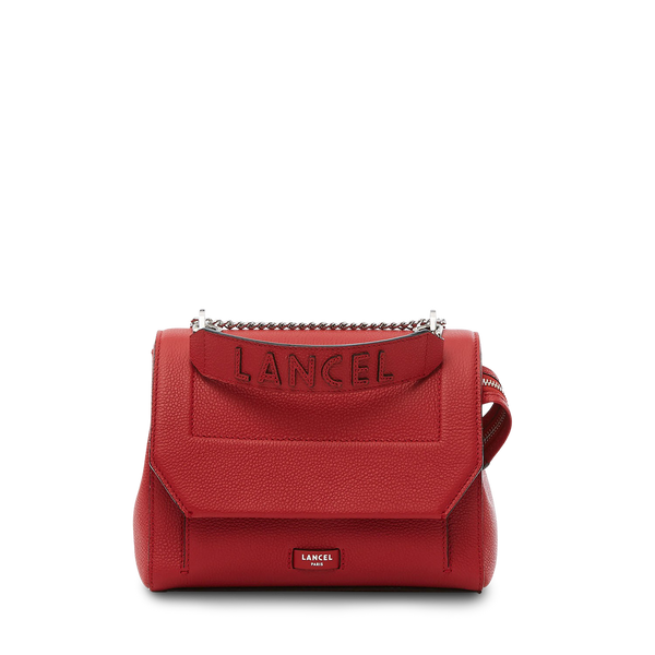Flap Bag M - Red Lancel