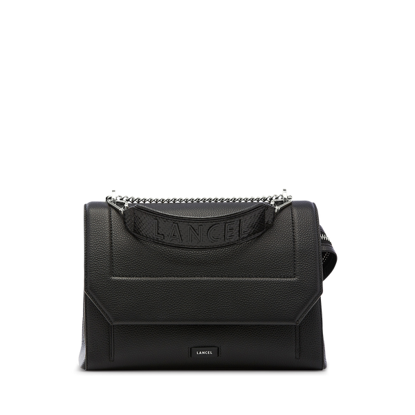 Flap Bag L - Black