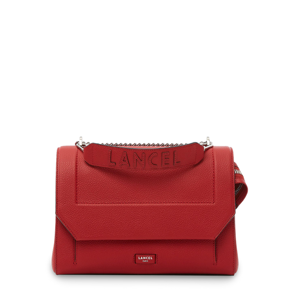 Flap Bag L - Red Lancel