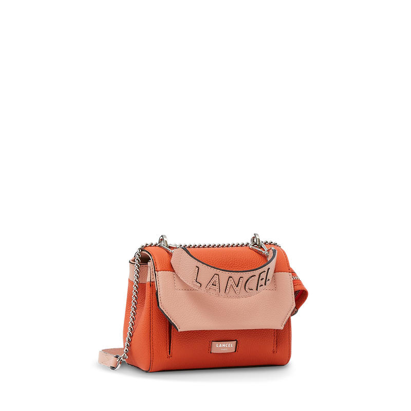 Flap Bag M - Papaya/Sunset Pink