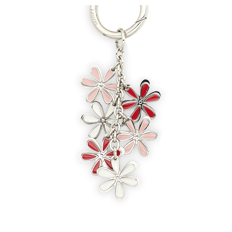 FLOWERS CHARMS KEYRING
