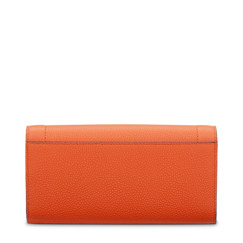 Slim Flap Wallet - Papaya
