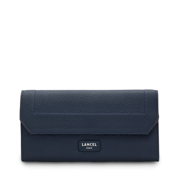 Slim Flap Wallet - Petrol Blue