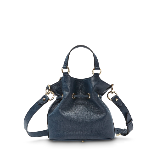 Bucket Bag S - Petrol Blue