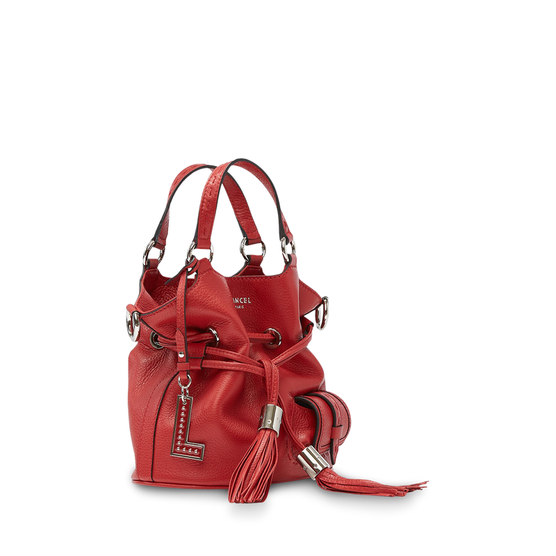 Bucket Bag S - Red Lancel