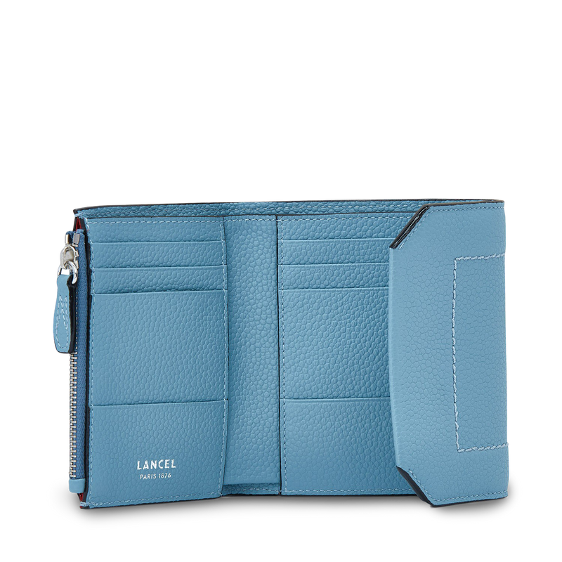 Flap Medium Compact Wallet - Cloud