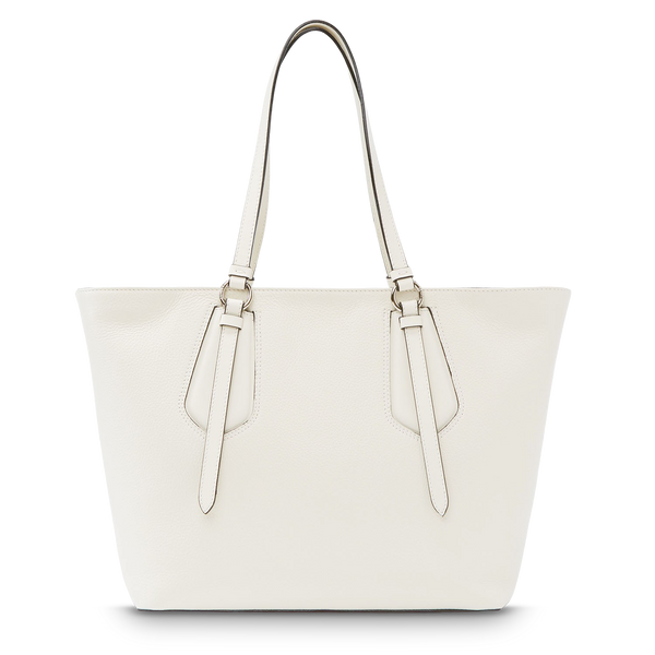 M Zip Tote Bag - Snow