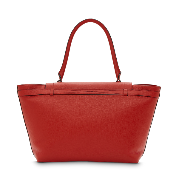 L Shoulder Bag - Red Lancel
