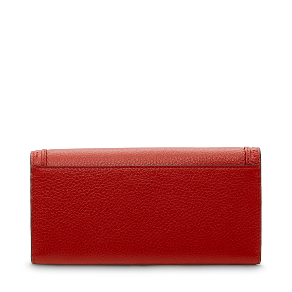 Slim Flap Wallet - Red Lancel