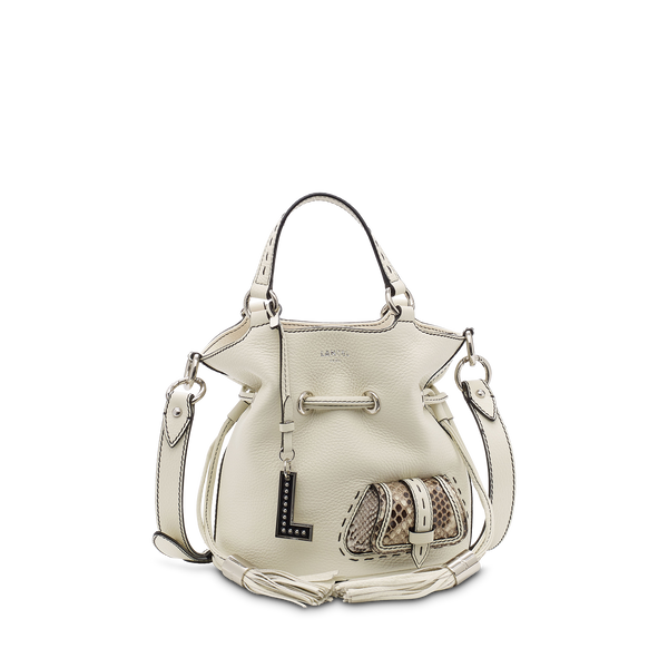 S Bucket Bag - Snow/Roccia