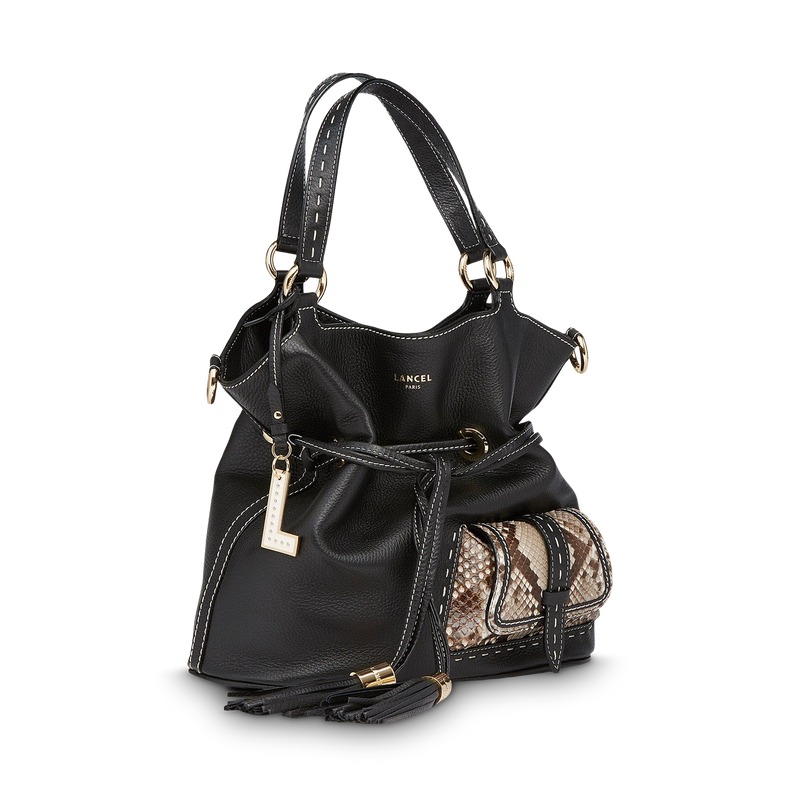 M Bucket Bag - Black/Roccia