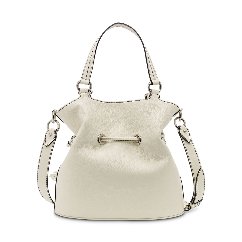 M Bucket Bag - Snow/Roccia