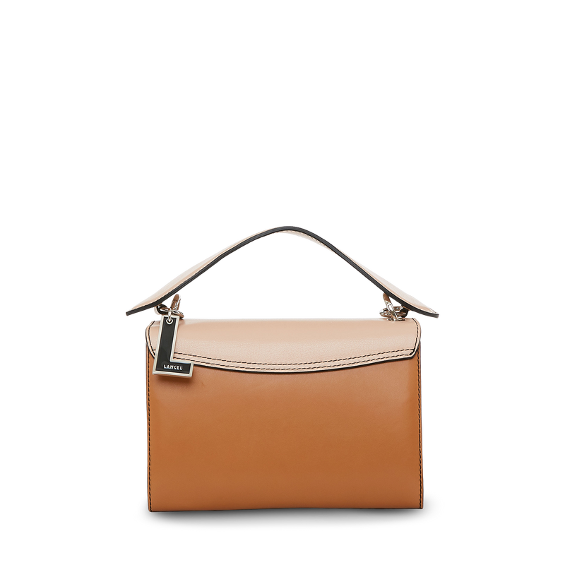 M Crossbody Bag - Nude/Black/Camel