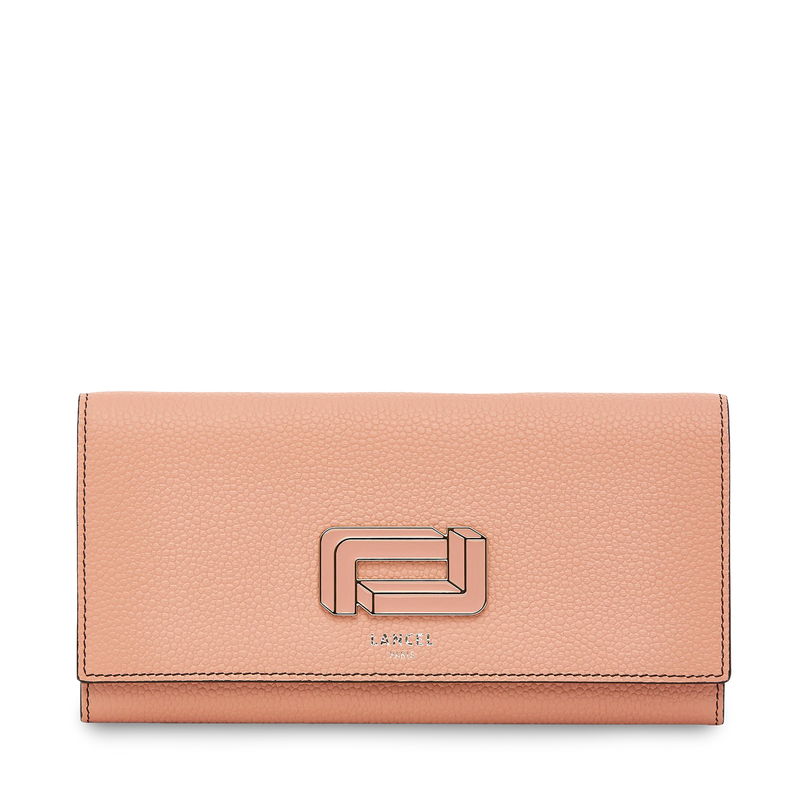 Slim Flap Wallet - Sunset Pink