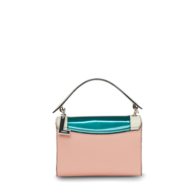 M Crossbody Bag - Multico Sunset Pink
