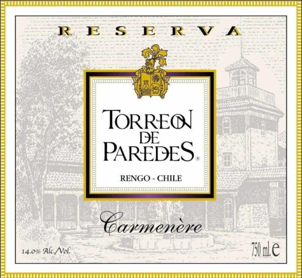 2009 Torrreon de Paredes Carménère, Cachapoal Valley, Chile - A Good Story Foods