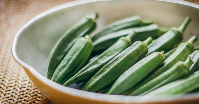 Cooked Okra - A Good Story Foods
