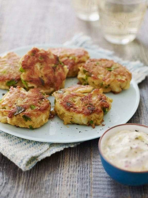 Crab Cakes - 2 Servings - A Good Story Foods