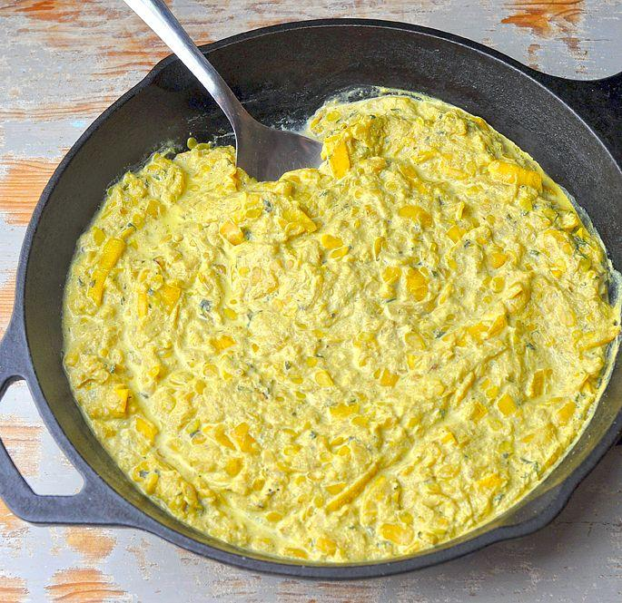 Creamed Squash - A Good Story Foods