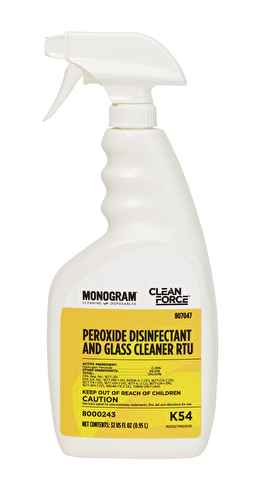 Disinfectant and Glass Cleaner w/Peroxide - Spray Bottle K54 - A Good Story Foods