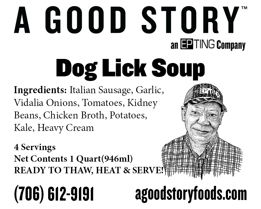 Doglick Soup - A Good Story Foods
