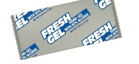 Gel Hand Sanitizer Packets - 400/cs - A Good Story Foods