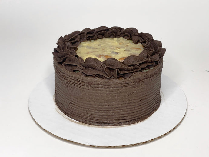 German Chocolate Cake - 6 inch - A Good Story Foods