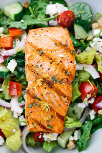 Grilled Filet of Salmon - A Good Story Foods