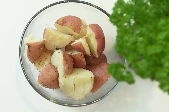 Herbed Red Potatoes - A Good Story Foods