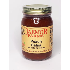 Jaemor Farms Peach Salsa - A Good Story Foods