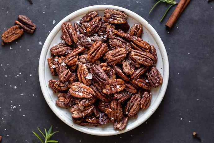 Savory Pecans - 1 lb bag - A Good Story Foods