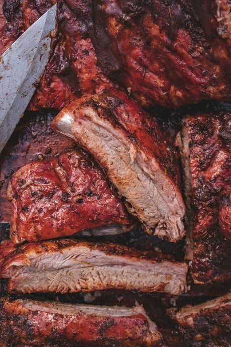 Smoked Rack of St. Louis Ribs - PRE-ORDER BY 5/20 - Pick-up 5/22 - A Good Story Foods